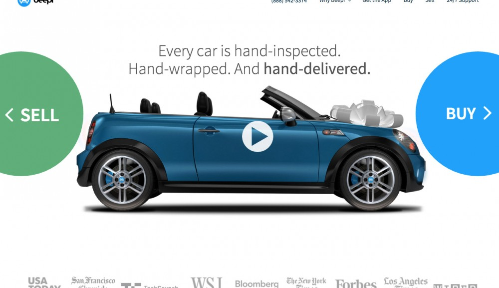 Beepi 自動車販売に特化したシカゴ発のECスタートアップ
